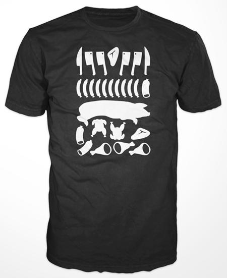 Fleisch-Shirt #1