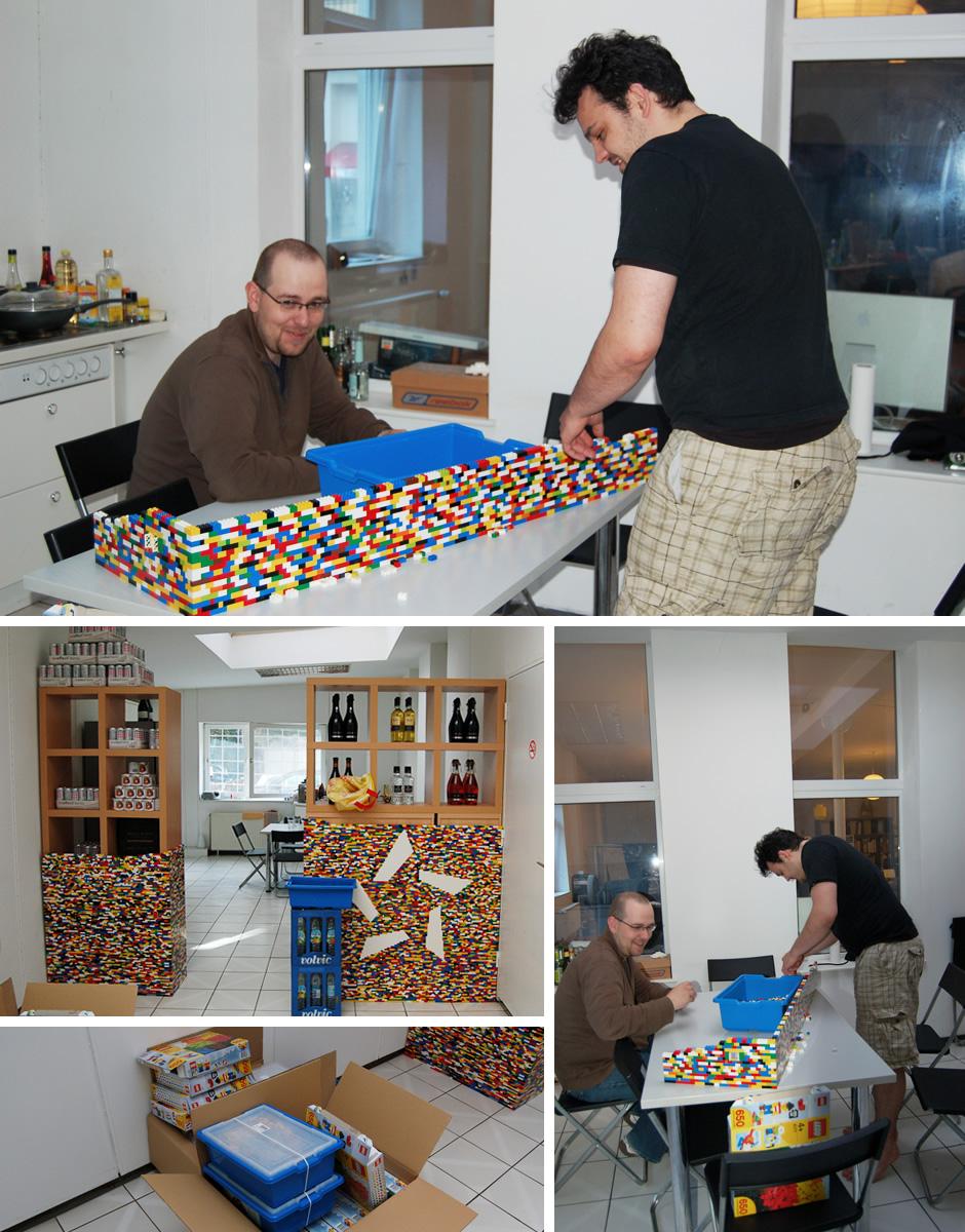 Der Lego-NPIRE-Stern muss nach oben!