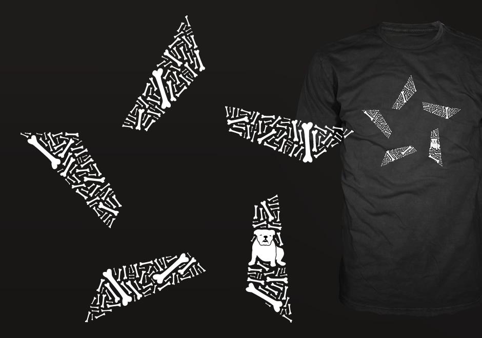 NPIRE Shirt mit Murphy und Knochen