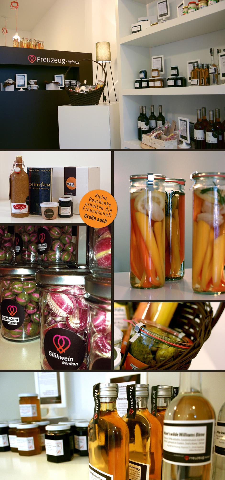 Bilder aus dem Laden von Freuzeug/heimat in der Bogenstraße 11 in Hamburg